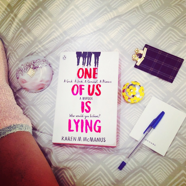 Review: One of Us Is Lying by KarenMcManus
